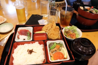 Bentobox in restaurant
