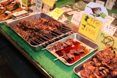 Spreeuwtjes op nishiki market