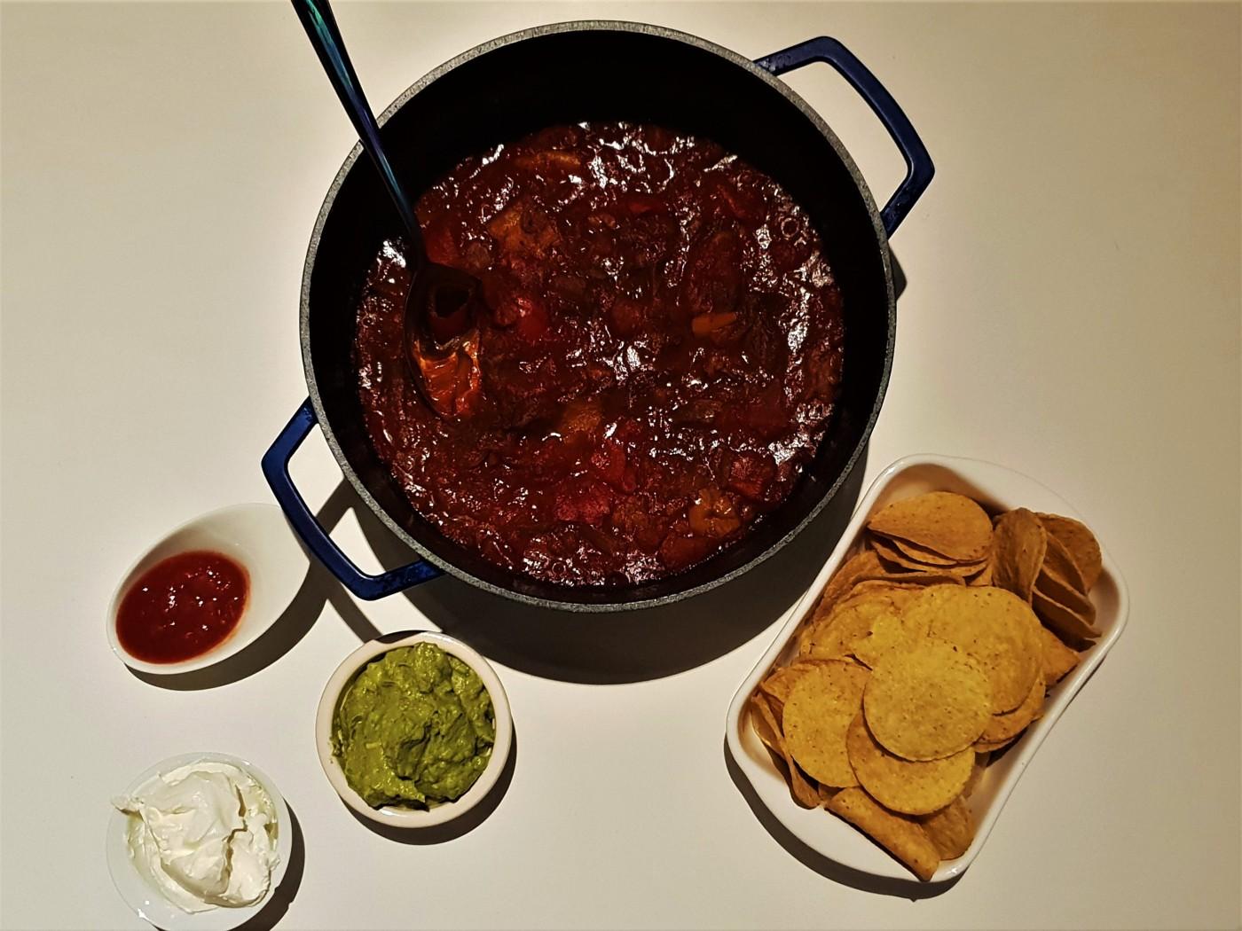 Oven chili